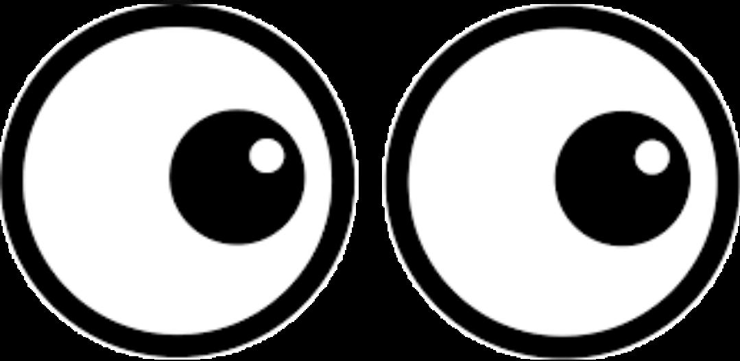 Eyeball clipart eye shape. Eyes eyeballs looking peeping