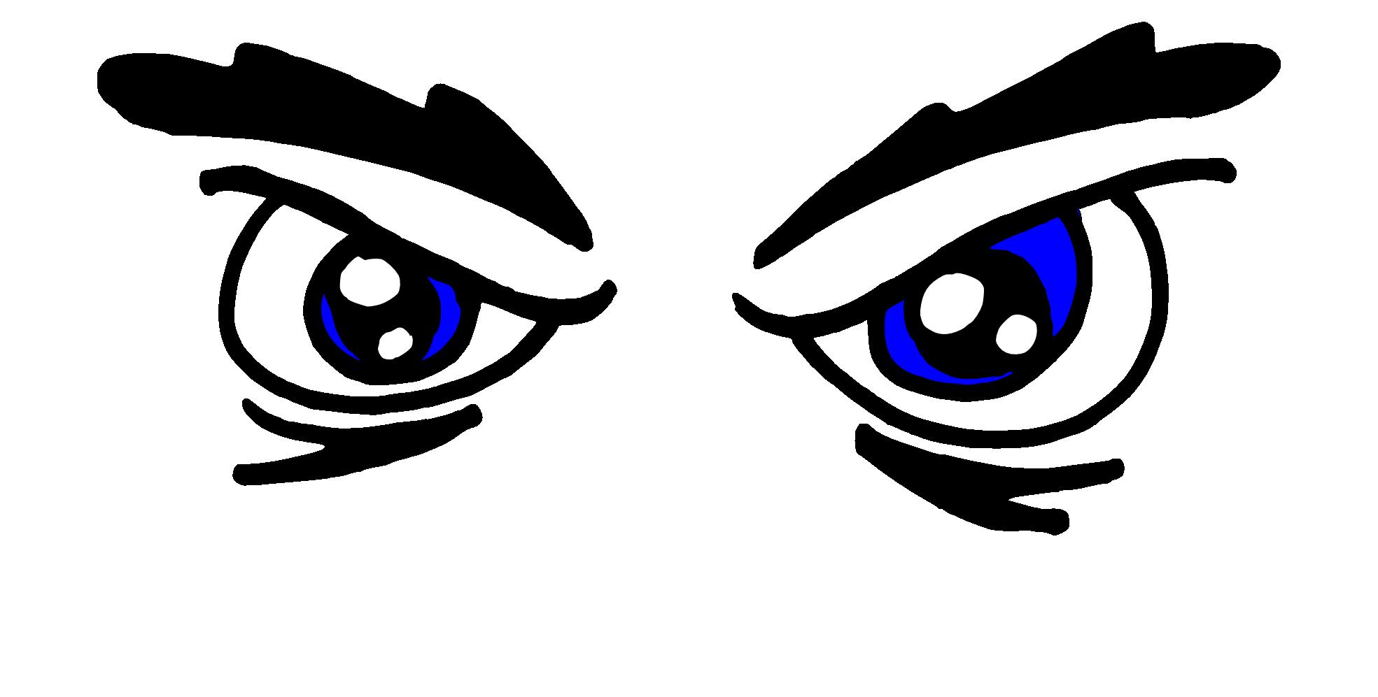 Monster eyes black and. Eyeball clipart eye symbol