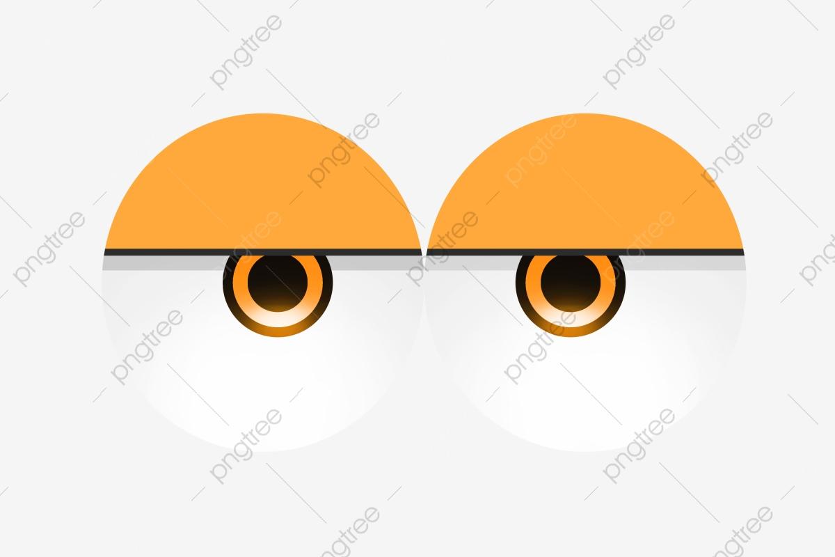 Eyeball clipart festival. Love eye yellow eyes