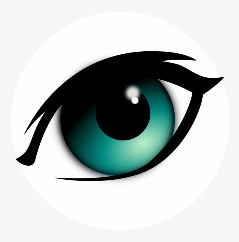 Freeuse download blue frames. Eyeball clipart festival