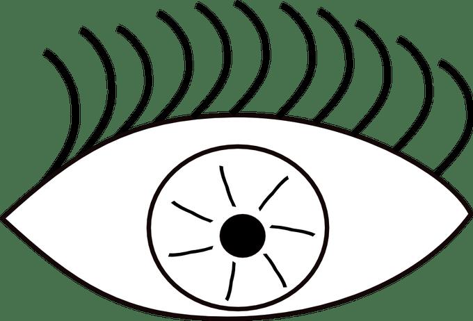 Eyeball clipart festival. Eyes black and white
