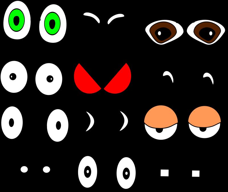 Eyes monsters doors boards. Eyeballs clipart frankenstein
