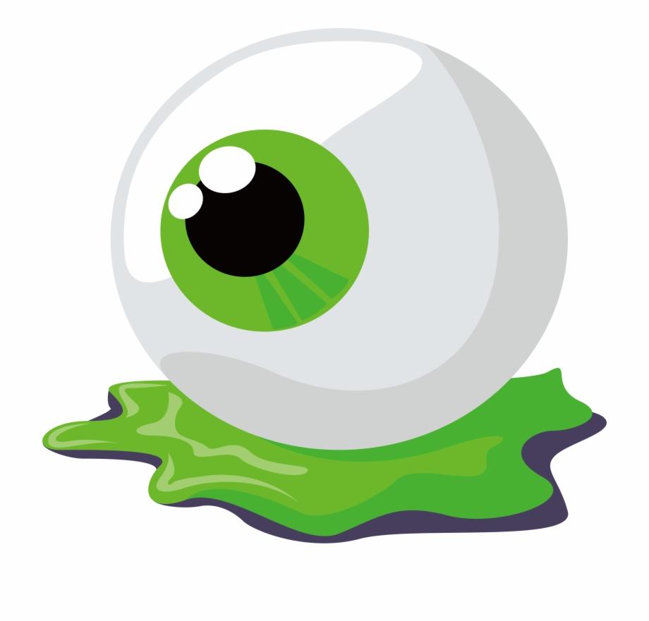 Eye clip art png. Eyeballs clipart halloween