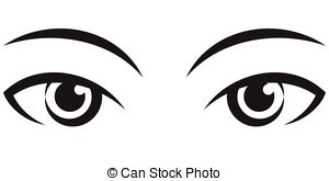 Free download clip art. Eyes clipart black and white