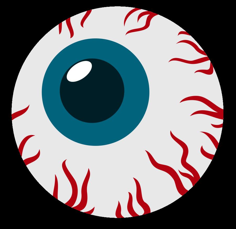 Eyeball clipart monster eyeball. Scary sun cliparts zone