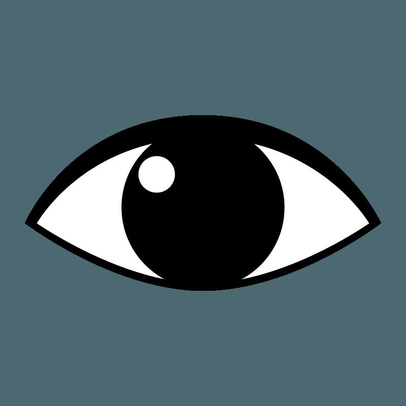 Simple eyes clipground eye. Eyeball clipart monster eyeball