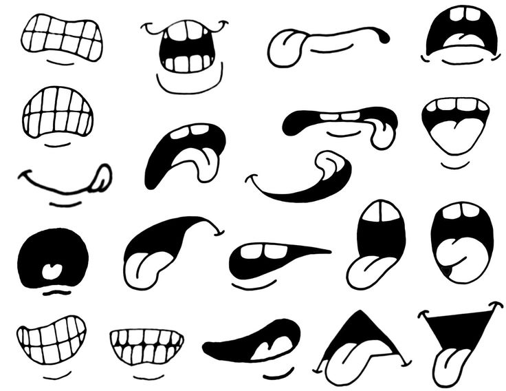 Mouth clipart printable. Cartoon eyes and clipartix