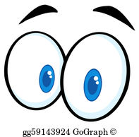 Surprise clipart eye. Pair of eyes clip