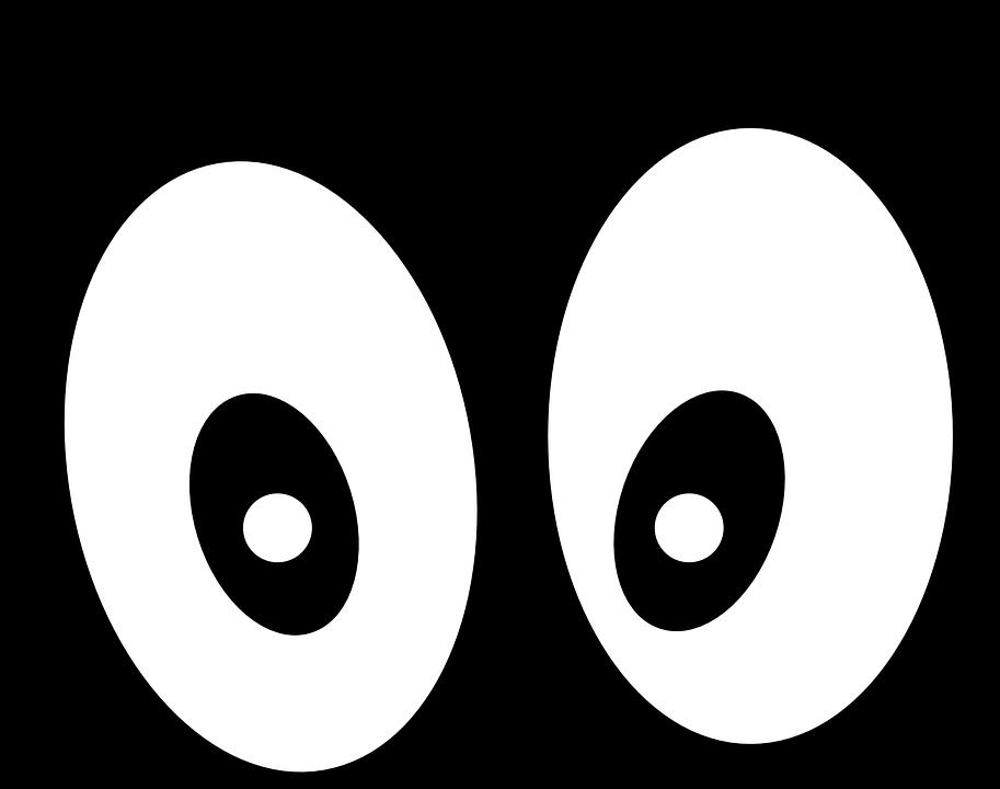 Eyeball clipart robotic eye. Eyes outline cliparts shop