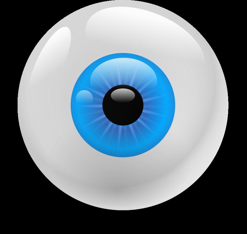 Medium image png . Eyeball clipart robotic eye