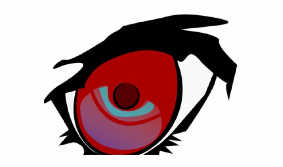 Red eyes transparent . Eyeball clipart square eye