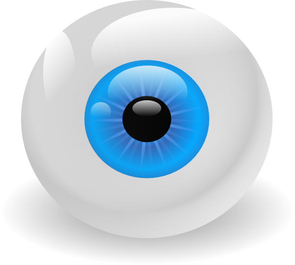 Eyeball clipart square eye. Clip art at clker