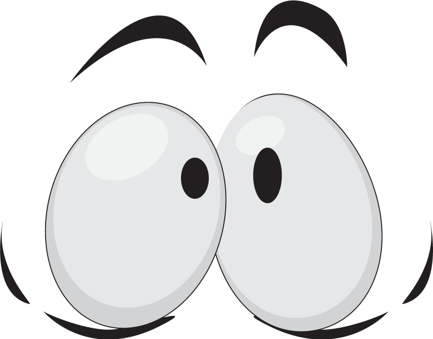 Surprised eyes wisc online. Surprise clipart woe