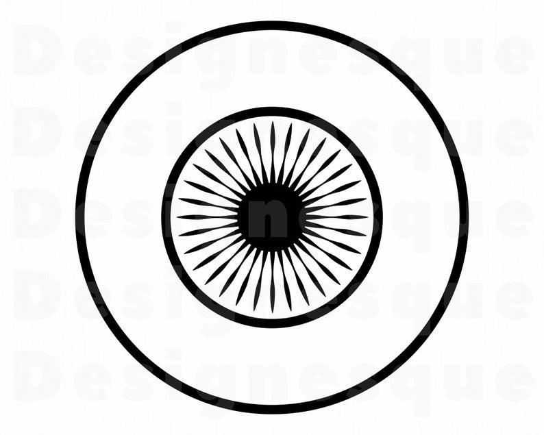 Eye files for cricut. Eyeball clipart svg