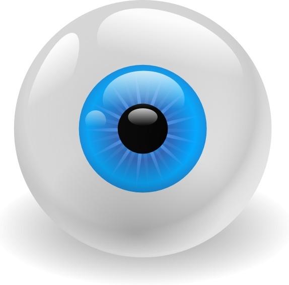 Eye clip art free. Eyeball clipart svg