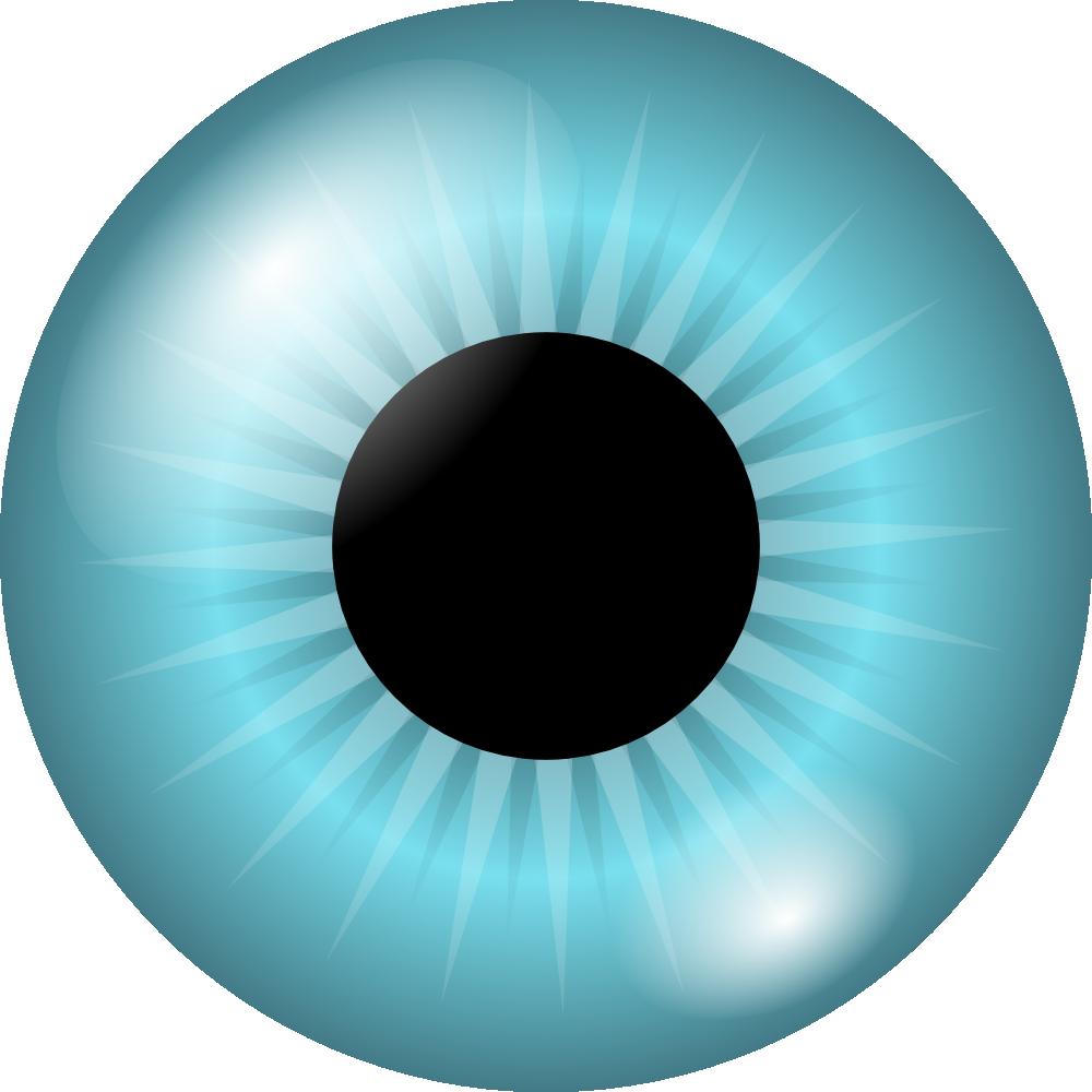 Eyeball clipart vein. Blue eye iris panda