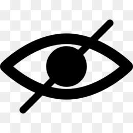 Eye symbol png download. Vision clipart vision loss