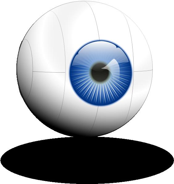 Eyeball clipart visual. Cyber eye clip art
