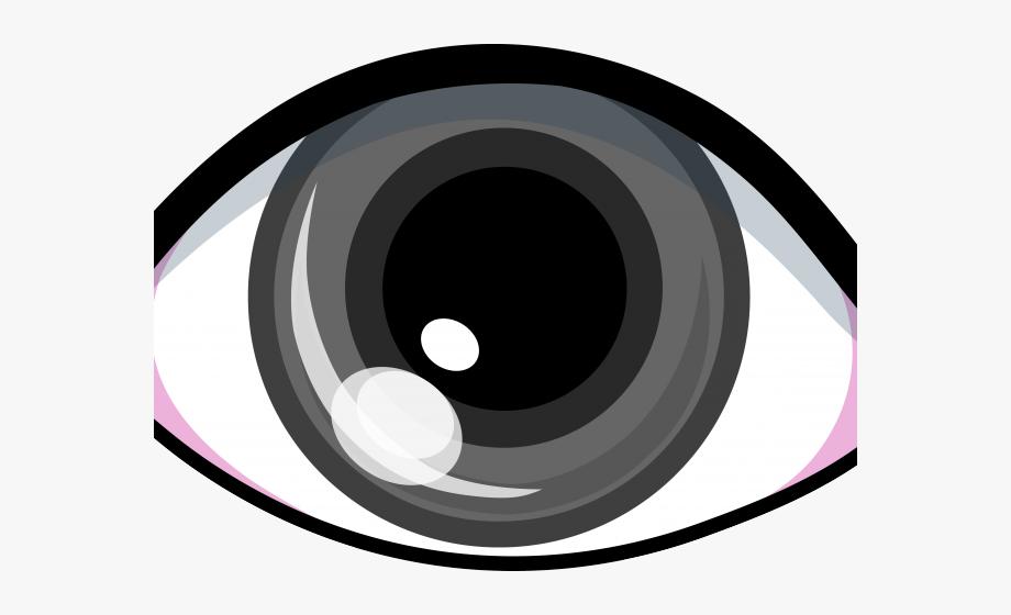 Brown eyes transparent background. Eyeball clipart visual