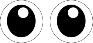 Eyeball clipart wiggly eye. Googly eyes panda free