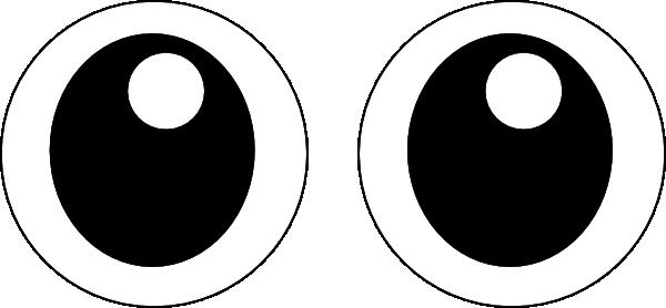 Googly eyes clip art. Eyeball clipart wiggly eye
