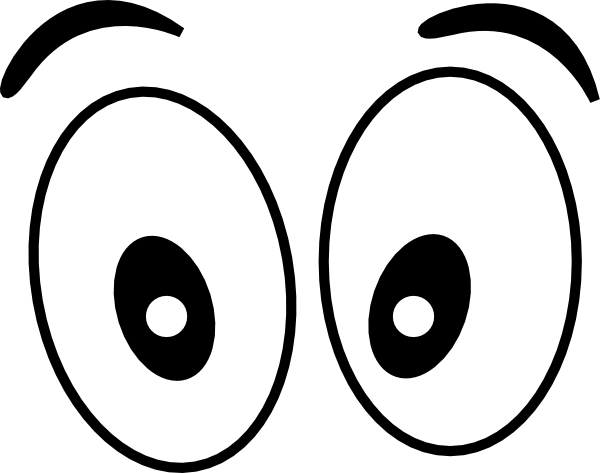 Free cartoon eyeballs cliparts. Eyes clipart