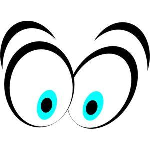 Eyeballs clipart. Funny cartoon clip art