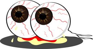 Eyeballs clipart. Monster eyeball panda free