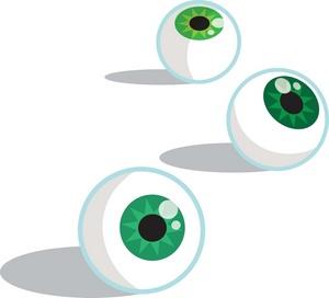 Eyeballs clipart. Free image acclaim