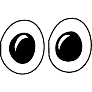 Eyes free images image. Eyeball clipart template