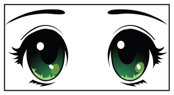 Green eyes x free. Eyeballs clipart beautiful eye