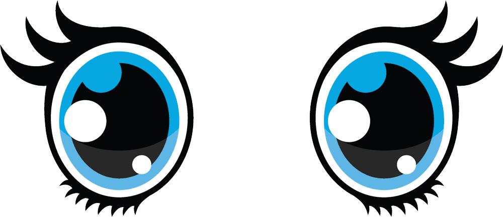 Eyeballs clipart beautiful eye. Ojos png eyes cute