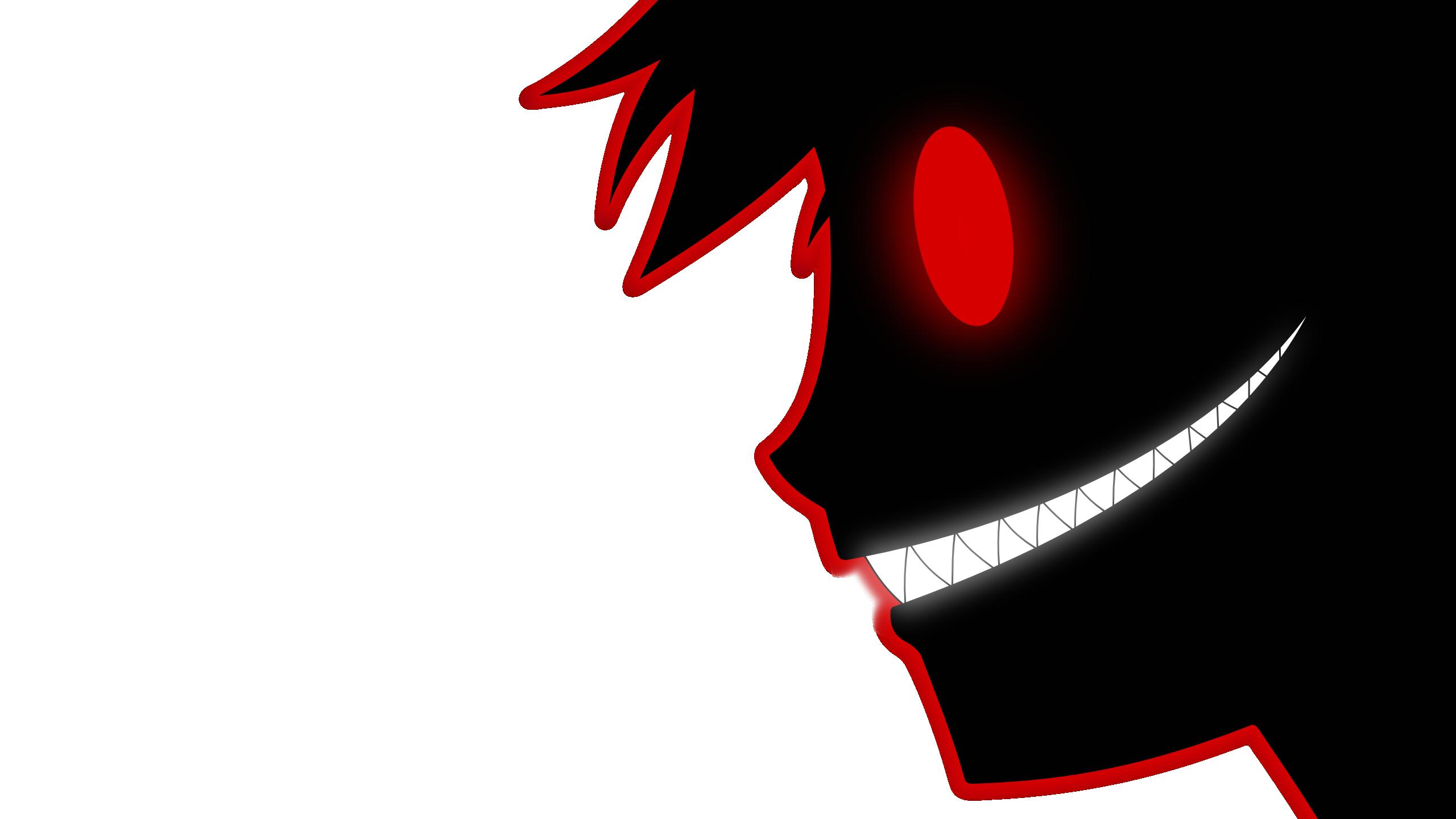 Red eyes minimalism anime. Eyeballs clipart bloodshot eye