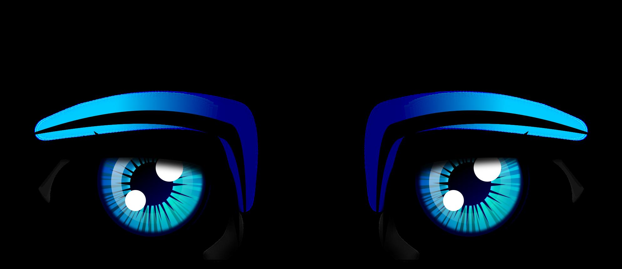 Boyaus eyes png download. Eyebrow clipart blue eye