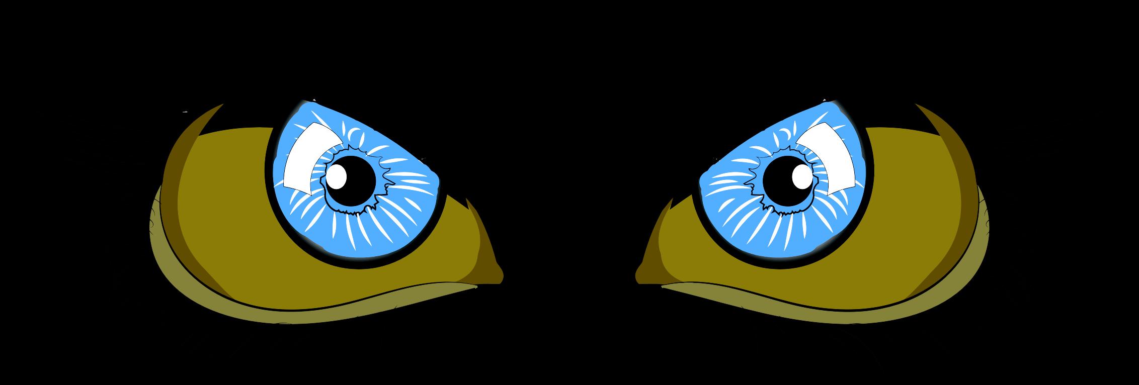 Eyelash clipart cartoon character. Blue eyes icons png