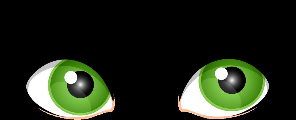 Eyeballs clipart eye ball. Of typegoodies me green