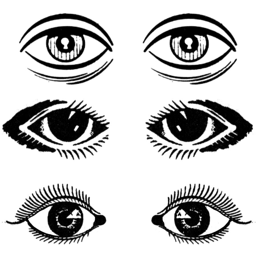Cartoon eyes clip art. Eyeballs clipart eye drawing