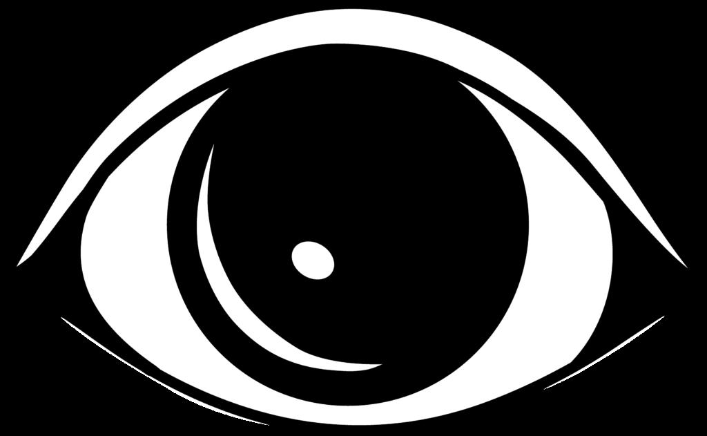 Cartoon eyes clip art. Eyeballs clipart eye outline
