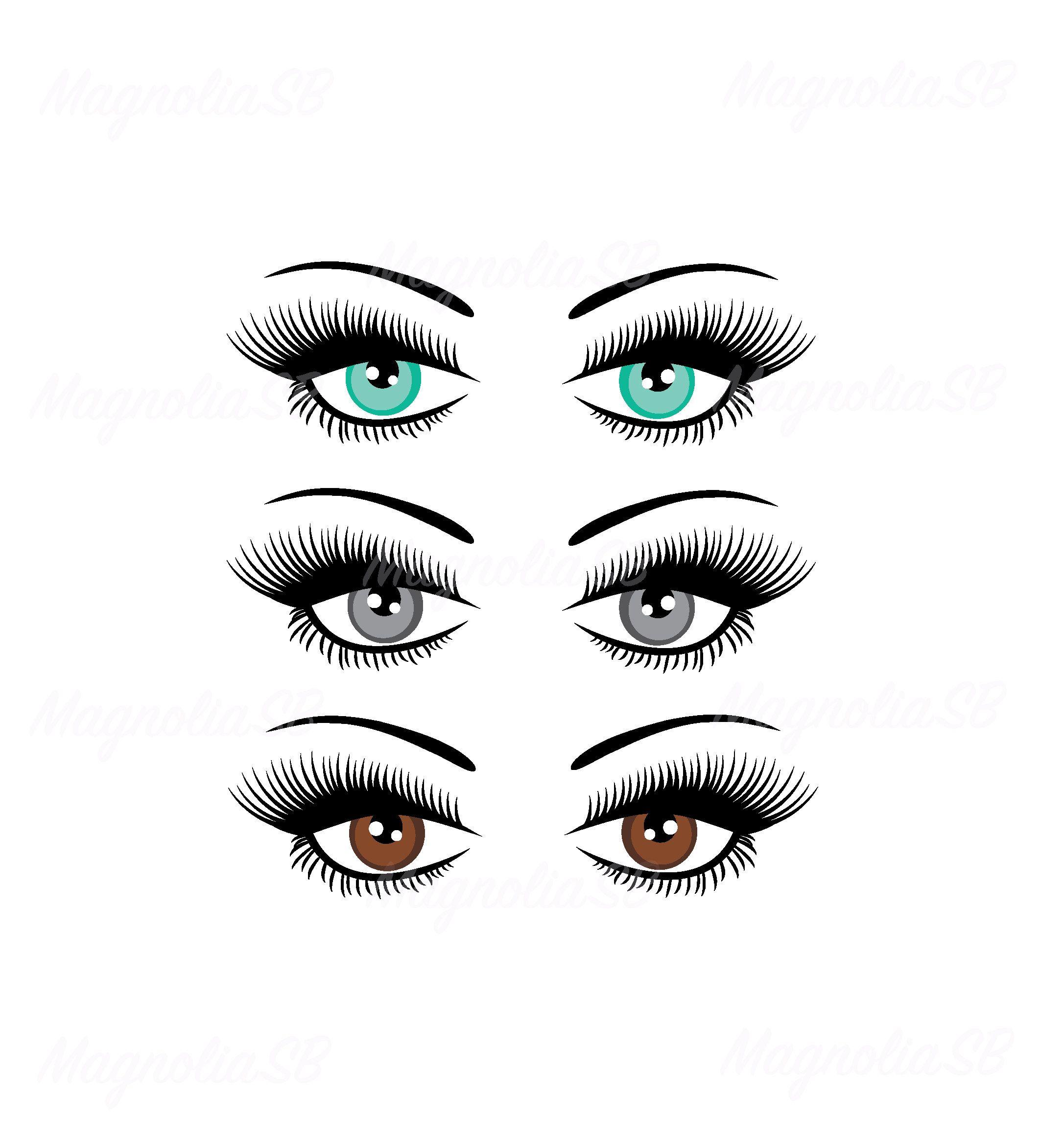 Eyeballs clipart eye shape. Pin on svg dxf