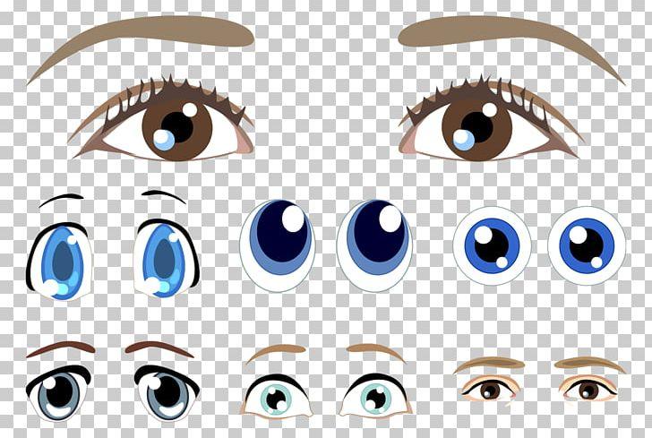 Eyebrow png anime eyes. Eyeballs clipart eye shape