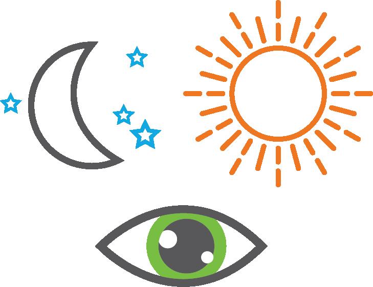 Vision clipart healthy eye. Raindrop near inlay lake