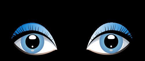 Pin by betsy maitland. Eyeballs clipart female eye