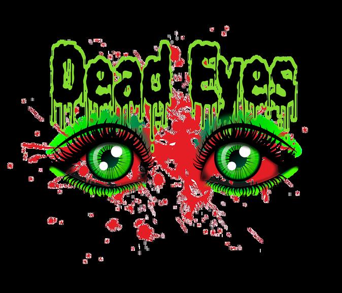 Dead eyes slashermonster. Eyeballs clipart glimpse