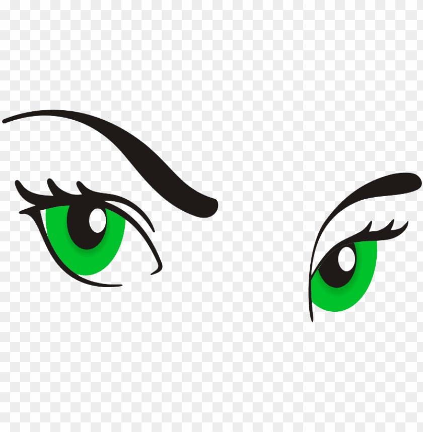 Eyeballs clipart lady eye. Eyeball woman cartoon eyes