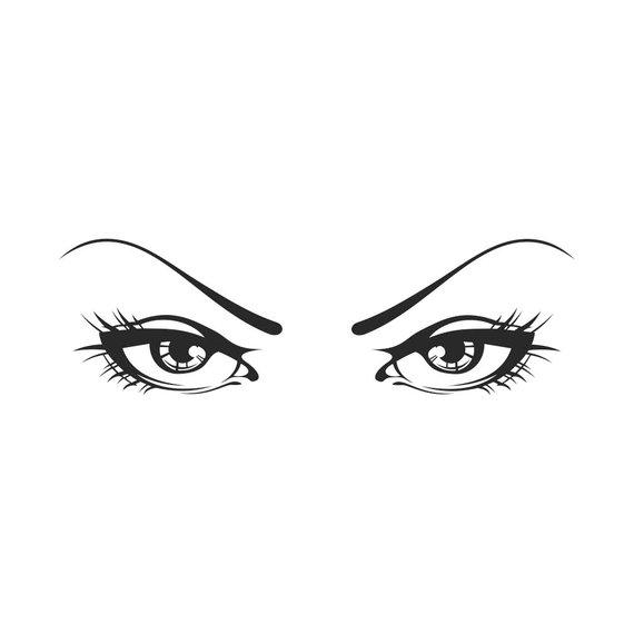 Pin by etsy on. Eyeballs clipart lady eye