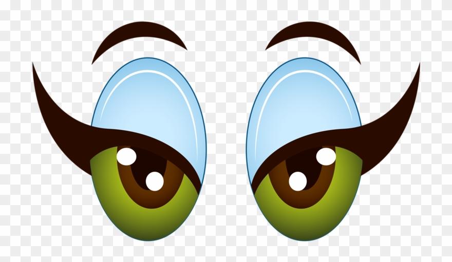 Girl clip art cartoon. Eyeballs clipart lady eye
