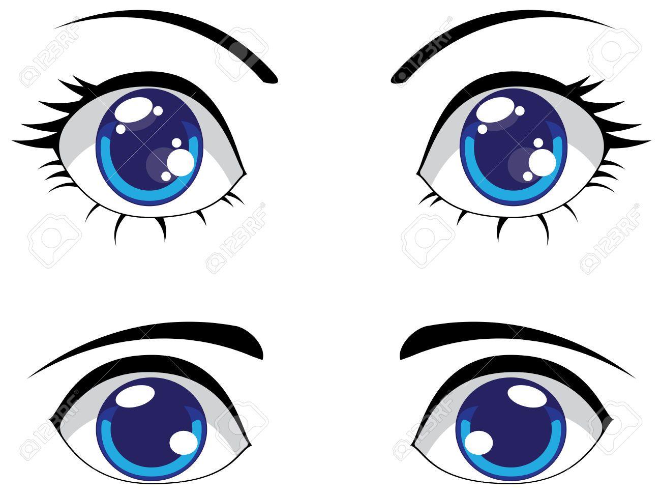 Stock vector yarn tales. Eyeballs clipart male eye