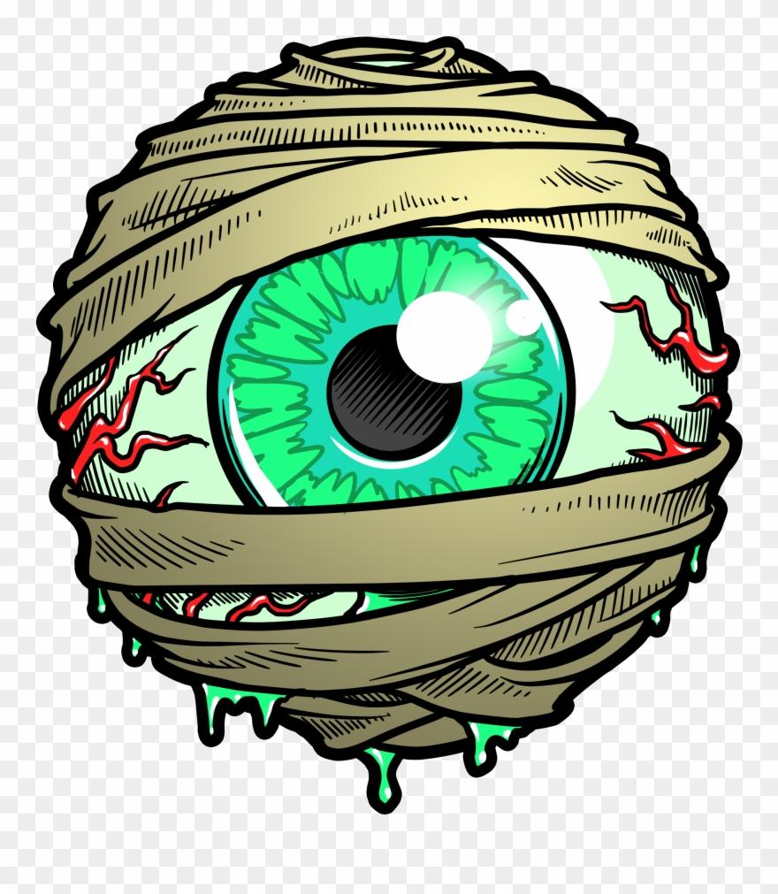 Eyeballs clipart mummy. Eyeball image royalty free
