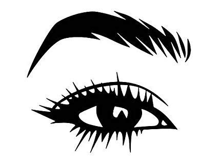 Amazon com yetta quiller. Eyelash clipart women's eye