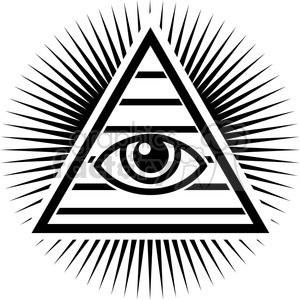 Eyeballs clipart pyramid. All seeing illuminati eye